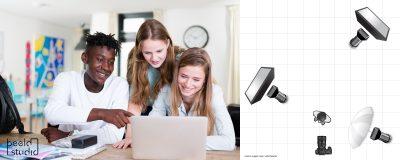 Hoe is de foto gemaakt: huiswerkbegeleiding
