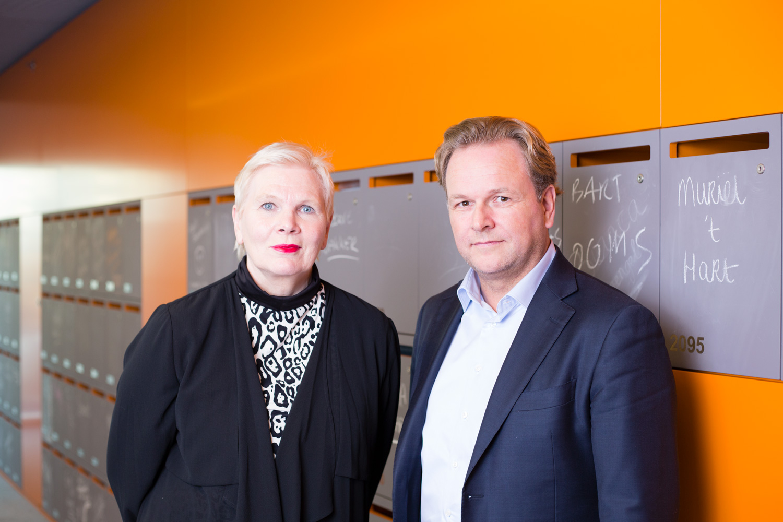 Henriëtte Maassen van den Brink en Ernst-Jan Stigter Microsoft Nederland