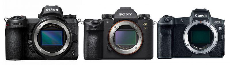 systeemcamera, mirrorless, grote merken, Sony, Nikon, Canon